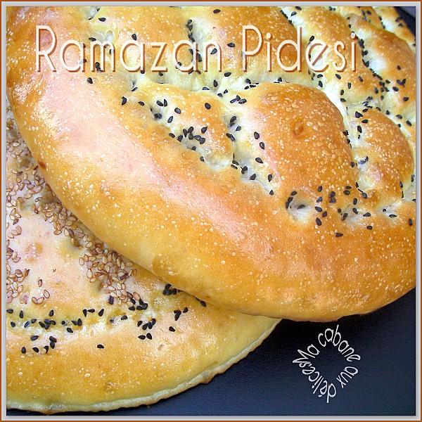 Pain turc ramazan pidesi la cuisine de djouza - Recette de cuisine tunisienne pour le ramadan ...