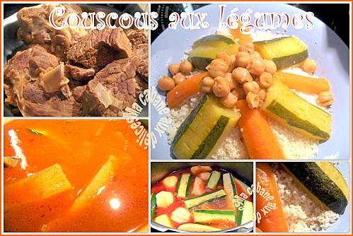 Couscous aux légumes photo 1