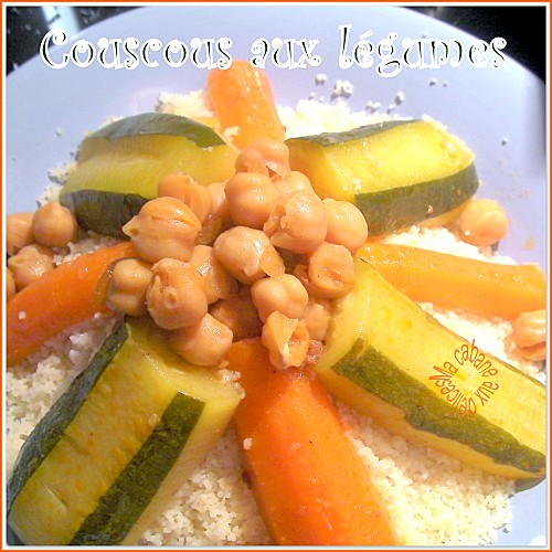 Couscous aux légumes photo 2