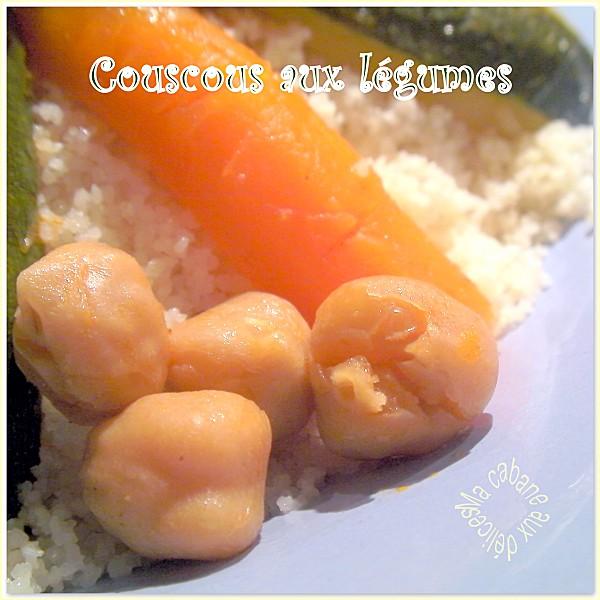 Couscous aux légumes photo 3
