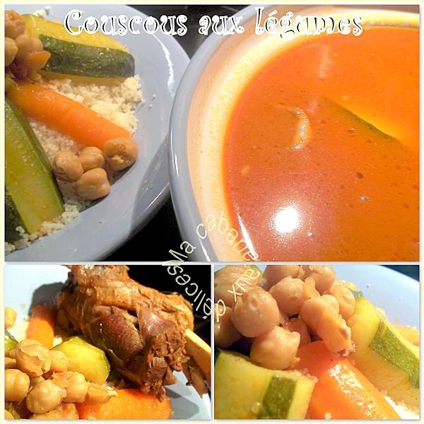 Couscous aux légumes photo 4