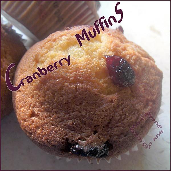 Cranberry muffins photo 1