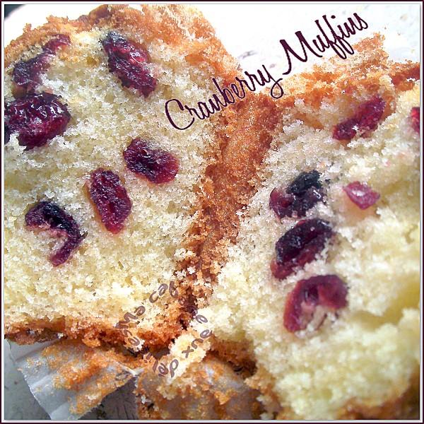 Cranberry muffins photo 2