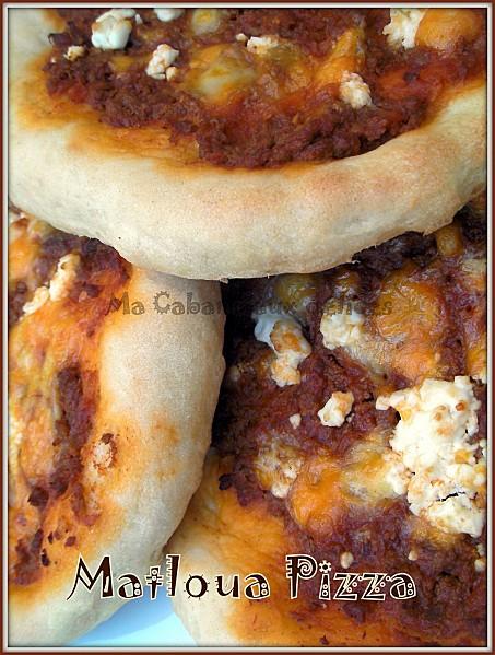 Galette Matloua pizza photo 2