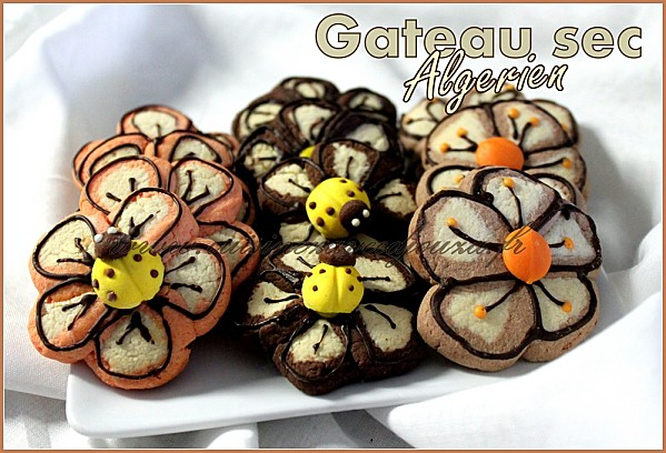 decoration gateau sec