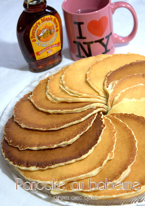 Recette pancake au babeurre
