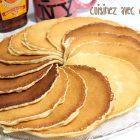 Pancake au babeurre noix et cannelle