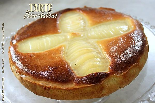 Tarte bourdaloue photo 1