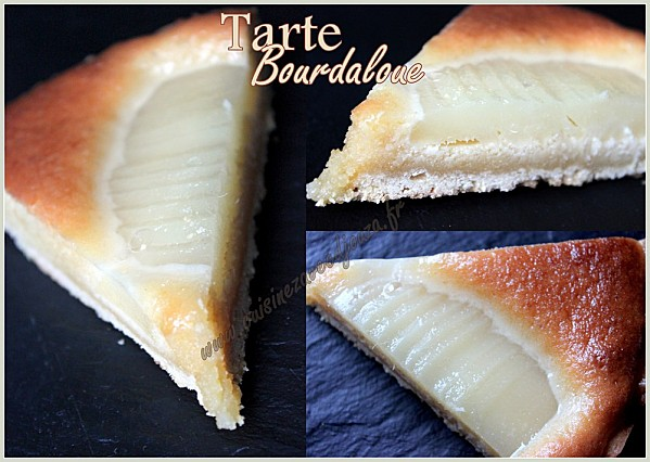 Tarte bourdaloue photo 3