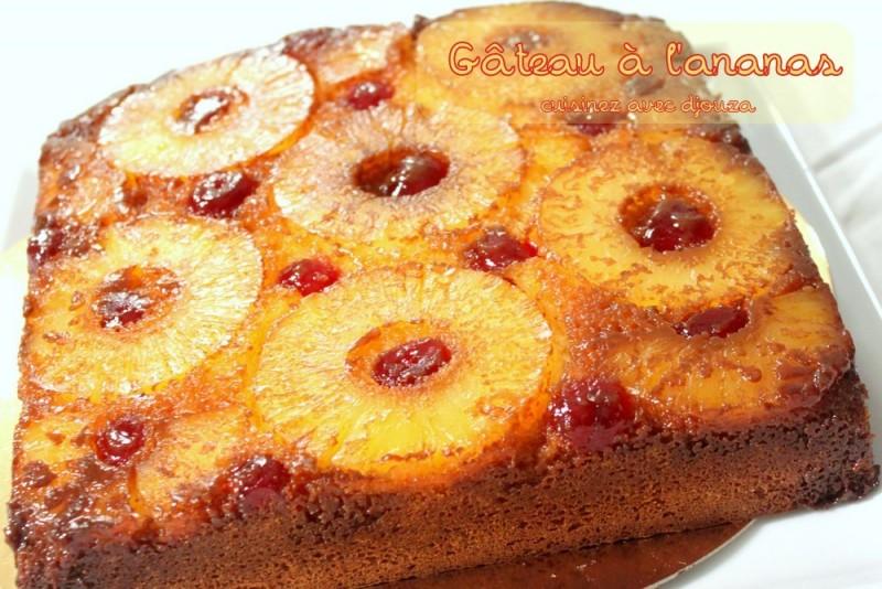 Gato zannanna gateau l 39 ananas antillais recettes - Cuisine de a a z desserts ...