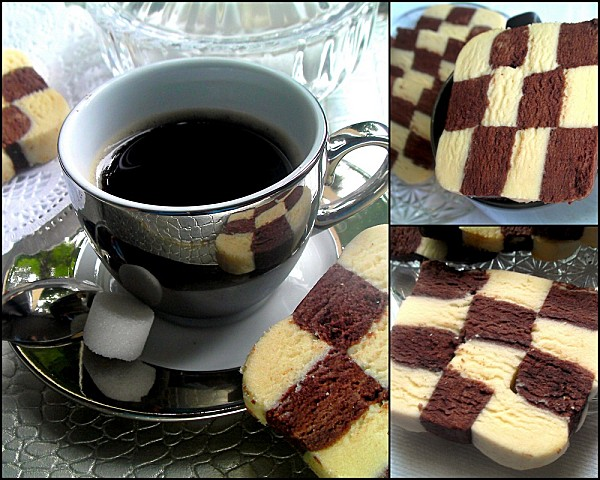 Gateau damier photo 4