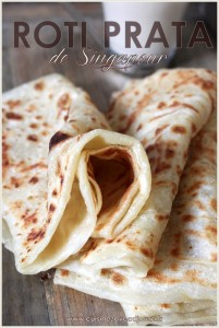 roti prata crepe ou pain de singapour