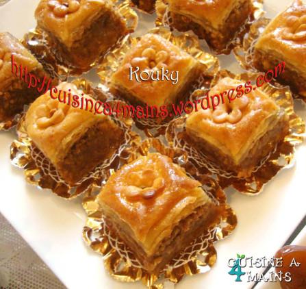 Nom. Gâteaux algeriens gateaux orientaux