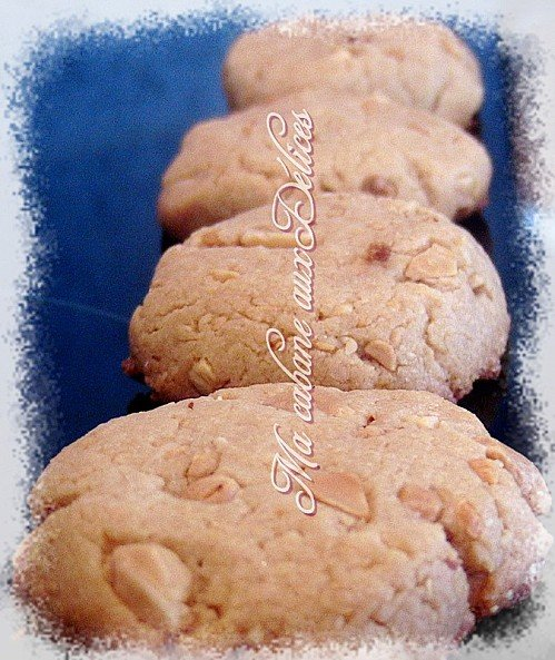 Cookies aux cacahuetes et butter peanut's