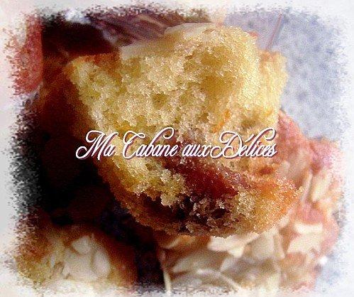 Mini cakes à l'orange et raisins secs