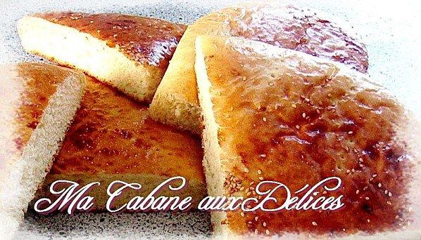 pain algerien au four khobz koucha
