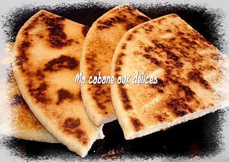 ahgroum, galette kabyle