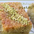Basboussa aux pistaches gateau de semoule