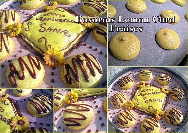Bavarois Lemon curd fraise photo 1