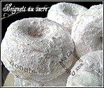 Beignets donuts au sucre