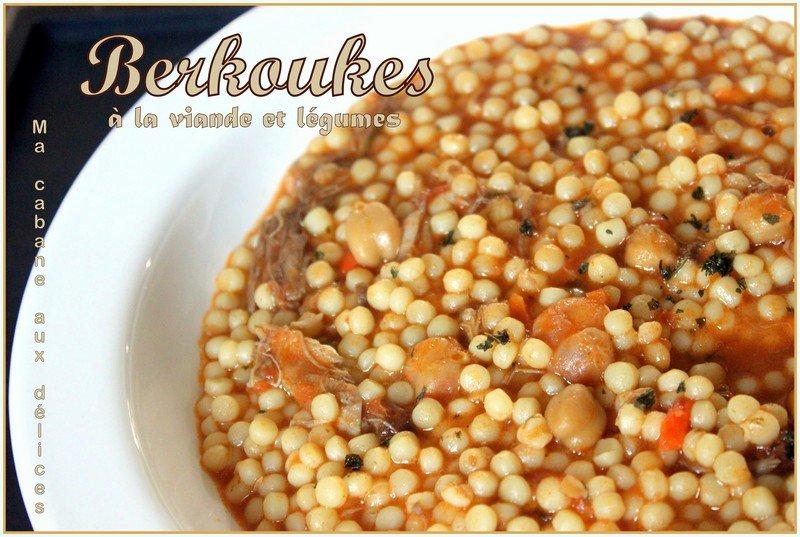 Berkoukes viande et l gumes recettes faciles recettes - Recette de cuisine algerienne traditionnelle ...