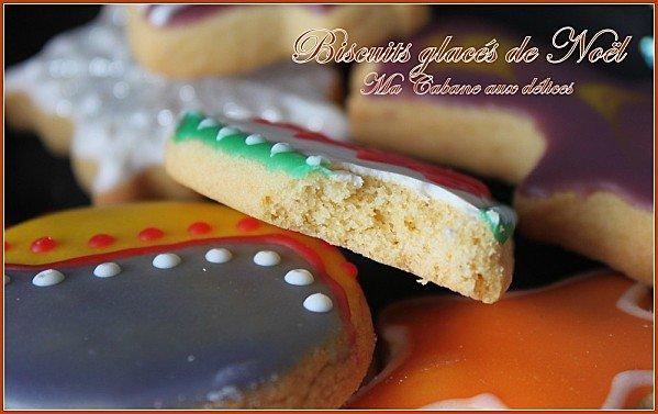 Biscuits glaces moelleux de Noel photo 4