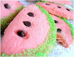 Biscuits pasteque 003