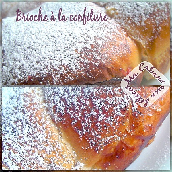 Brioche à la confiture photo 2