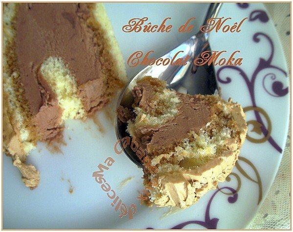 Buche de noel chocolat moka 042