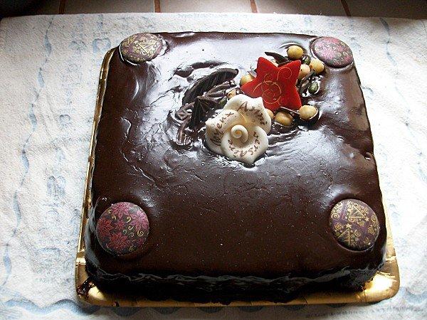 Cake au chocolat intense