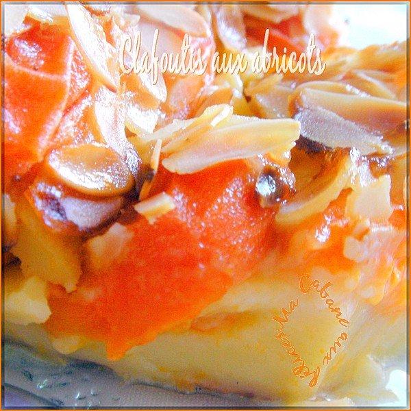 Clafoutis aux abricots photo 4