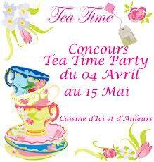 Concours Tea Time Party - 04 Avril au 15 Mai