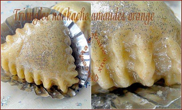 Cornes de gazelle amandes oranges montage 1