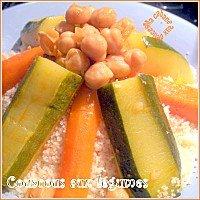 Couscous avec des pois chiches