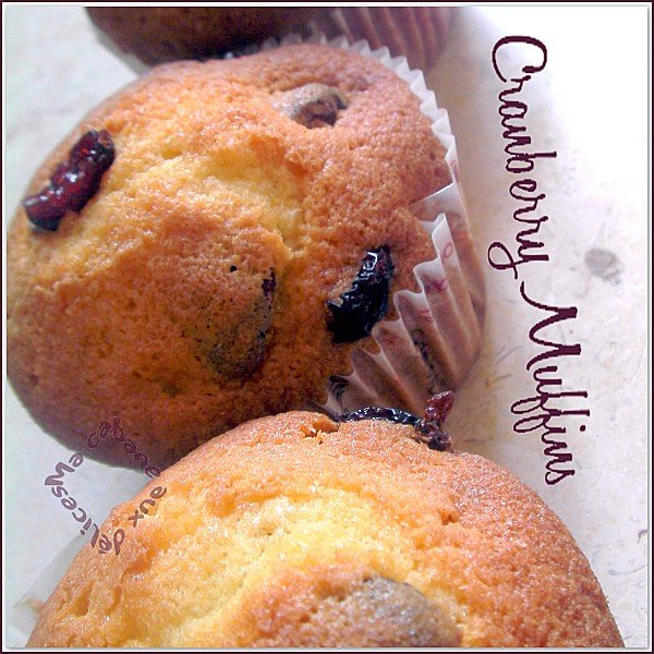 Cranberry muffins photo 3