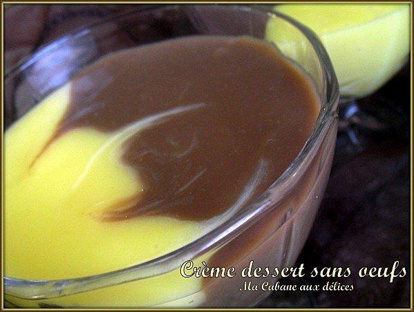 Creme dessert sans oeufs photo 3