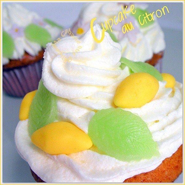 Cupcake au citron photo 4