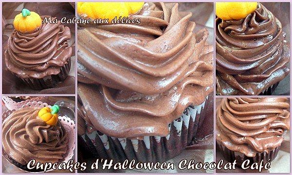 Cupcake chocolat café d'halloween photo 3