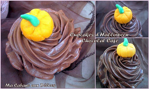 Cupcake chocolat café d'halloween photo 4