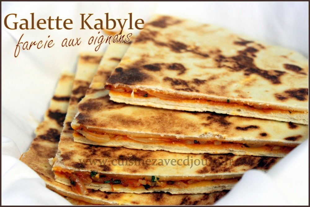 Galette kabyle farcie photo 1