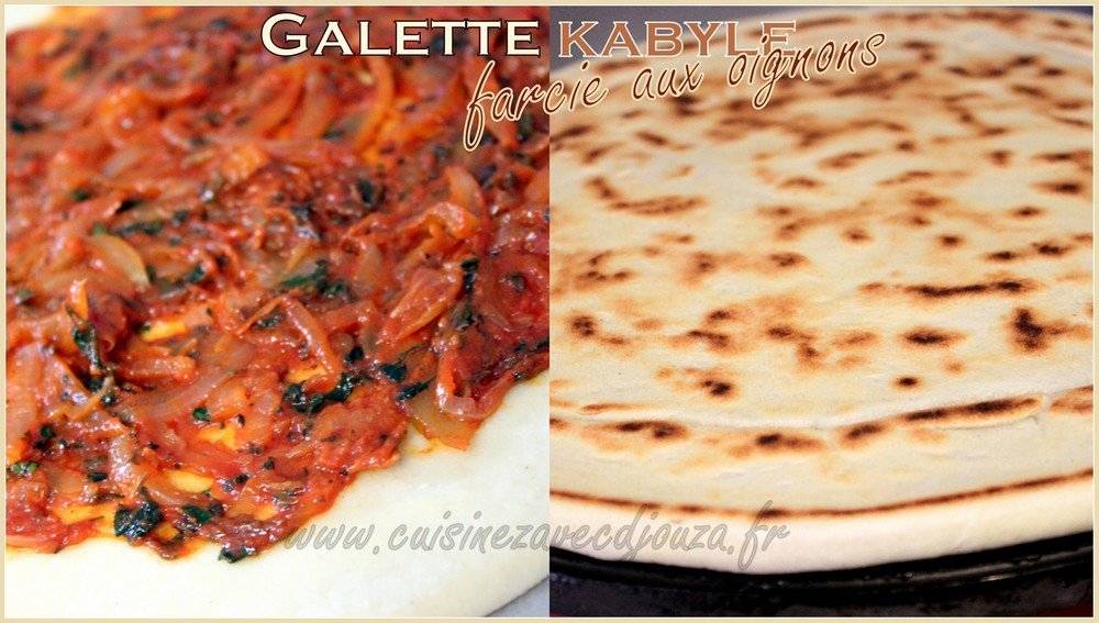 Galette kabyle farcie photo 3