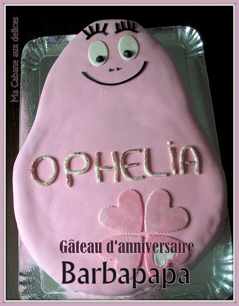 Gateau Barbapapa photo 1