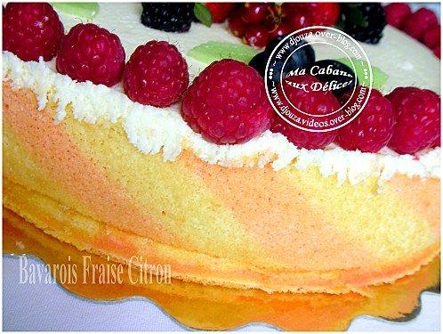 Gâteau bavarois 012