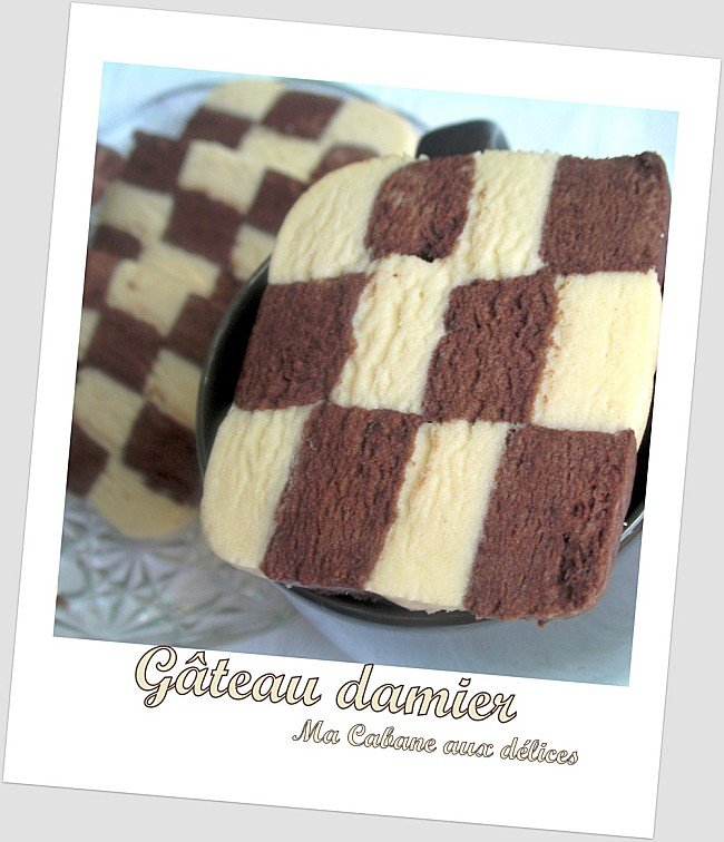 Gateau damier photo 1