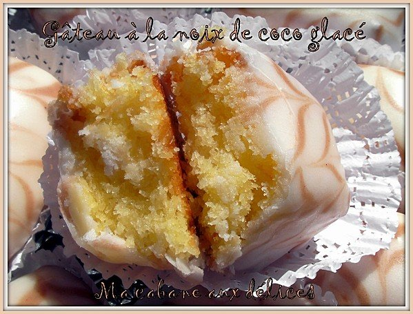 Gateau noix de coco glacé photo 5