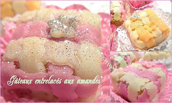 Gâteaux entrelacés aux amandes