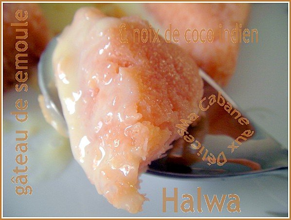 Halwa gateau de semoule indien 009
