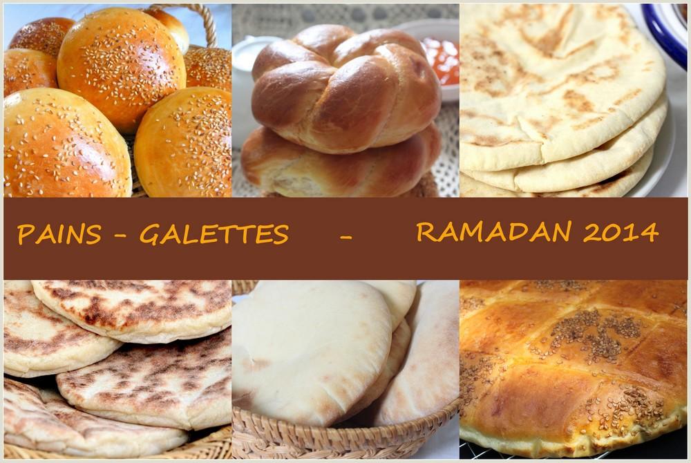 Index des pains galettes ramadan 2014