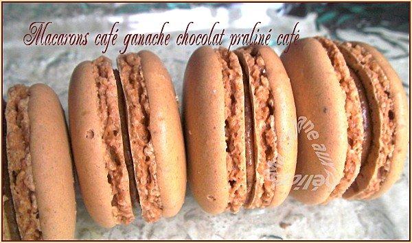 Macarons vanille chocolat café 007