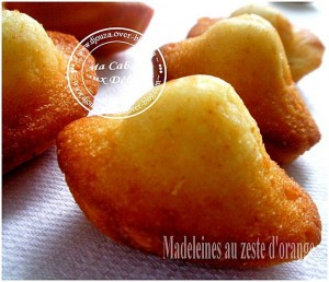 Madeleines a l'orange
